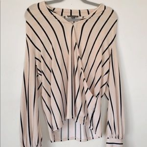 Adrianna Papell - Striped Blouse